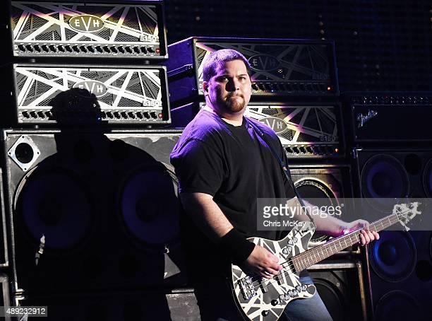 Wolfgang Van Halen of Van Halen performs at Music Midtown at Piedmont Park on September 19, 2015 in Atlanta, Georgia.