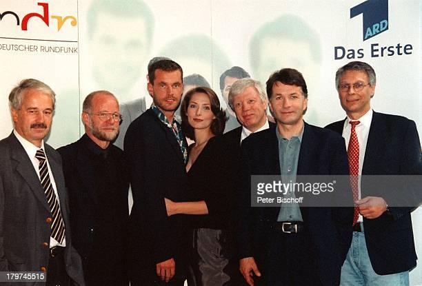"""Wolfgang Vietze;, Karl-Heinz;Staamann , Joachim;Kretzer, Ina Rudolph, Thomas Rühmann, Dr.;Günter Struve ;, ARD-Serie """"In aller;Freundschaft"""","""