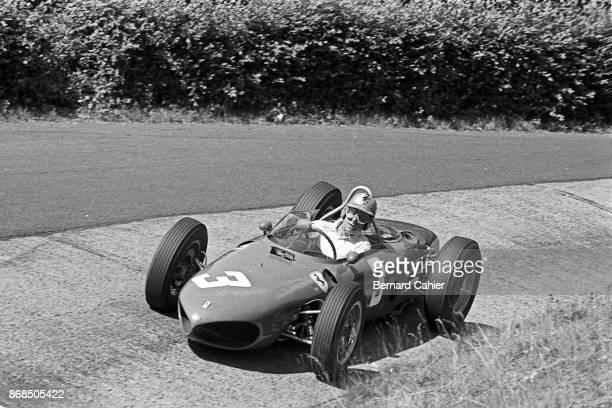 Wolfgang von Trips Ferrari 156 Sharknose Grand Prix of Germany Nurburgring 06 August 1961