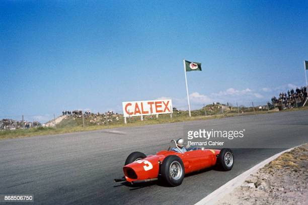 Wolfgang von Trips Ferrari 156 Sharknose Grand Prix of the Netherlands Circuit Park Zandvoort 22 May 1961