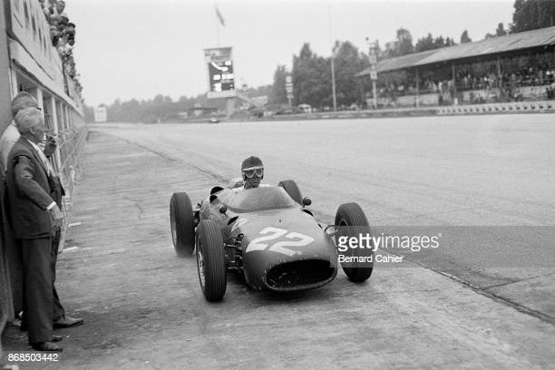 Wolfgang von Trips Ferrari 156SP Grand Prix of Italy Autodromo Nazionale Monza 04 September 1960