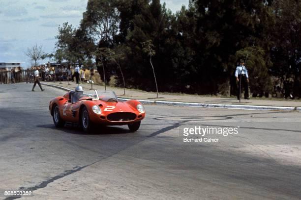 Wolfgang von Trips Ferrari 250 TR Grand Prix of Argentina Autodromo Juan y Oscar Galvez Buenos Aires 07 February 1960