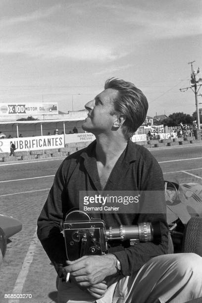 Wolfgang von Trips Grand Prix of Portugal Circuito da Boavista 24 August 1958 Whenever he had a chance Wolfgang von Trips loved to film with his 16mm...