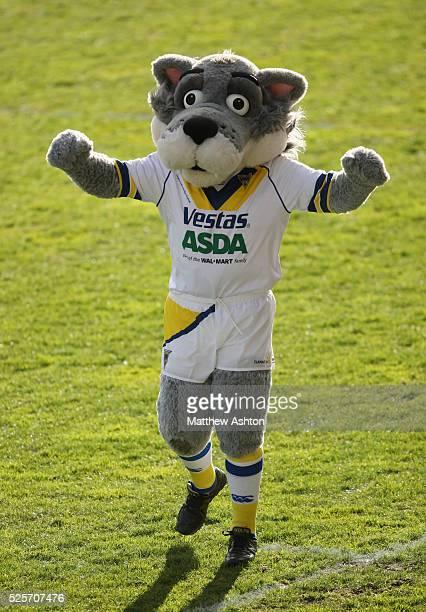 Wolfie the Warrington Wolves Mascot