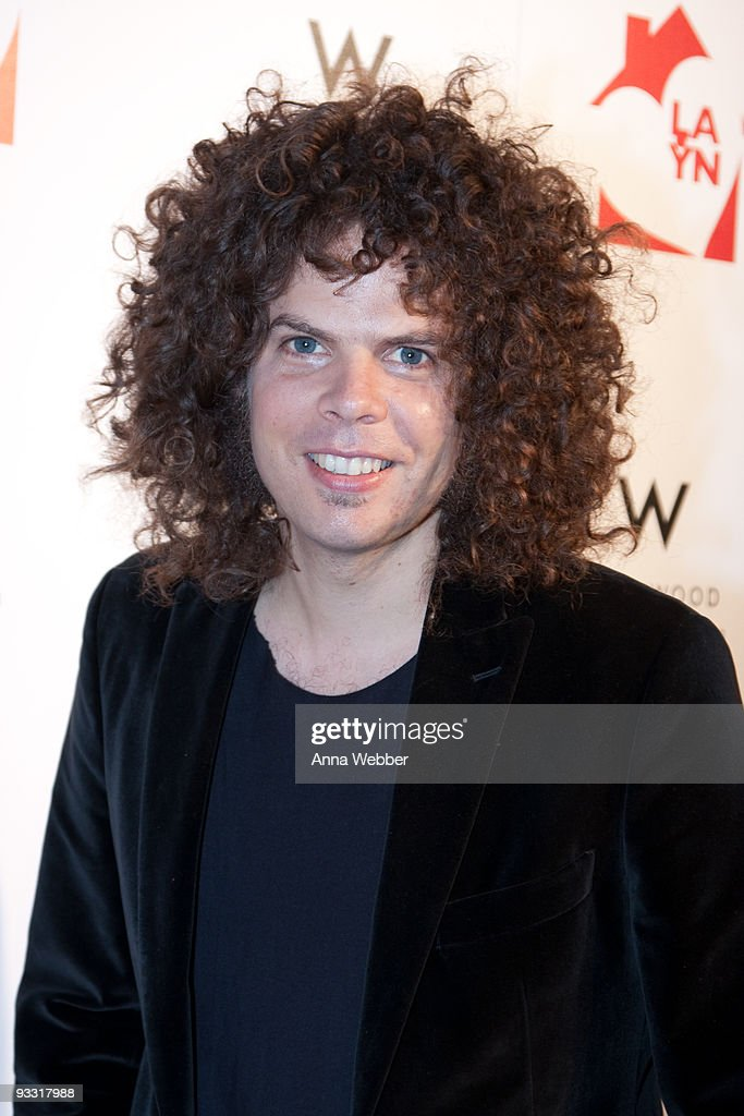 Wolfmother's Andrew Stockdale arrives at Los Angeles Youth Network Benefit Rock Concert at the Avalon on November 22, 2009 in Hollywood, California.