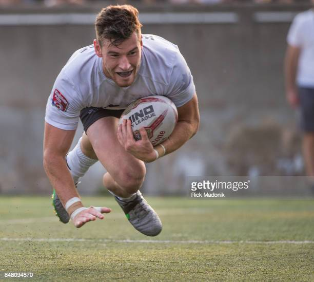 Wolfpack's Blake Wallace finishes his try with a score and pulls the Pack even with Doncaster The Toronto Wolfpack 2nd half action as they host the...