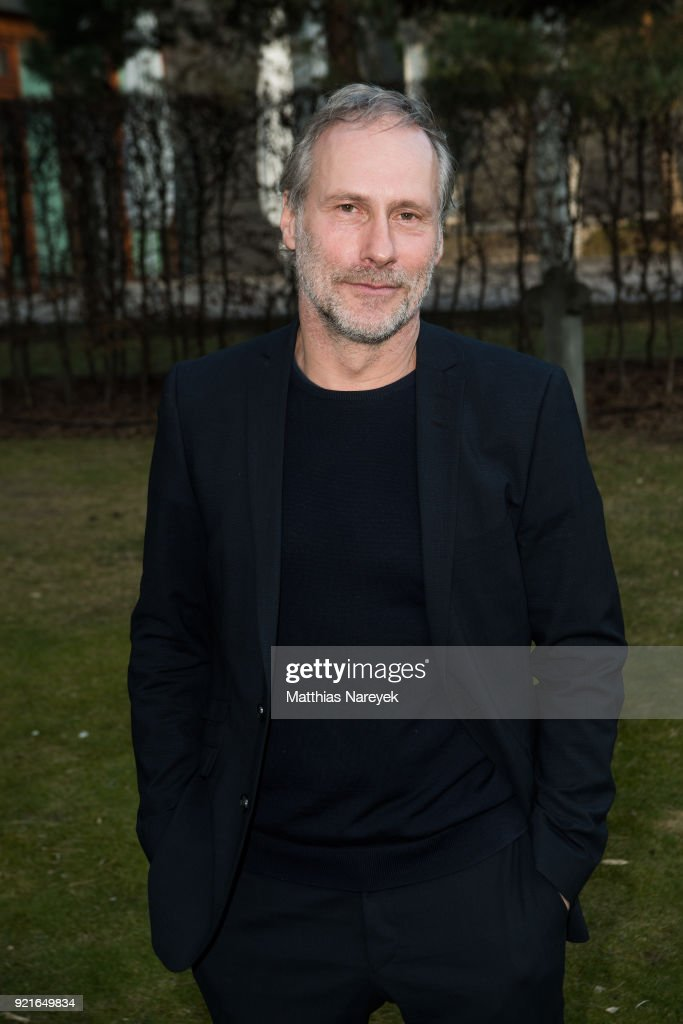 Wolfram Koch attends the Hessian Reception during the 68th Berlinale International Film Festival on February 20, 2018 in Berlin, Germany.