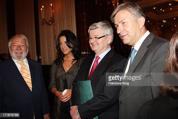 Wolfram Siebeck Minu BaratiFischer and Joschka Fischer And Mayor Klaus Wowereit The Final Of Time Magazine Good cooking competition from Austria at...