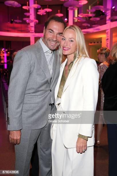 Wolfram Winter and his wife Petra Winter editor in chief of Madame during the PIN Party 'Let's party 4 art' at Pinakothek der Moderne on November 18...