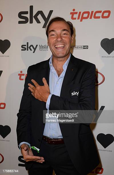 Wolfram Winter attends the Sky Bundesliga Season Opening Party at Heart on August 9 2013 in Munich Germany