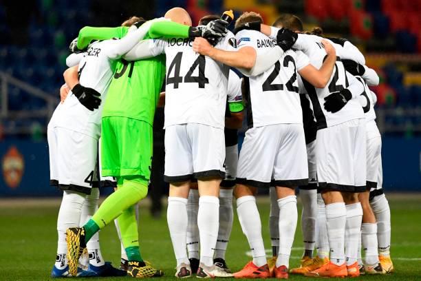 RUS: CSKA Moskva v Wolfsberger AC: Group K - UEFA Europa League