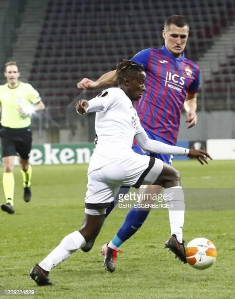AUT: Wolfsberger AC v CSKA Moskva: Group K - UEFA Europa League
