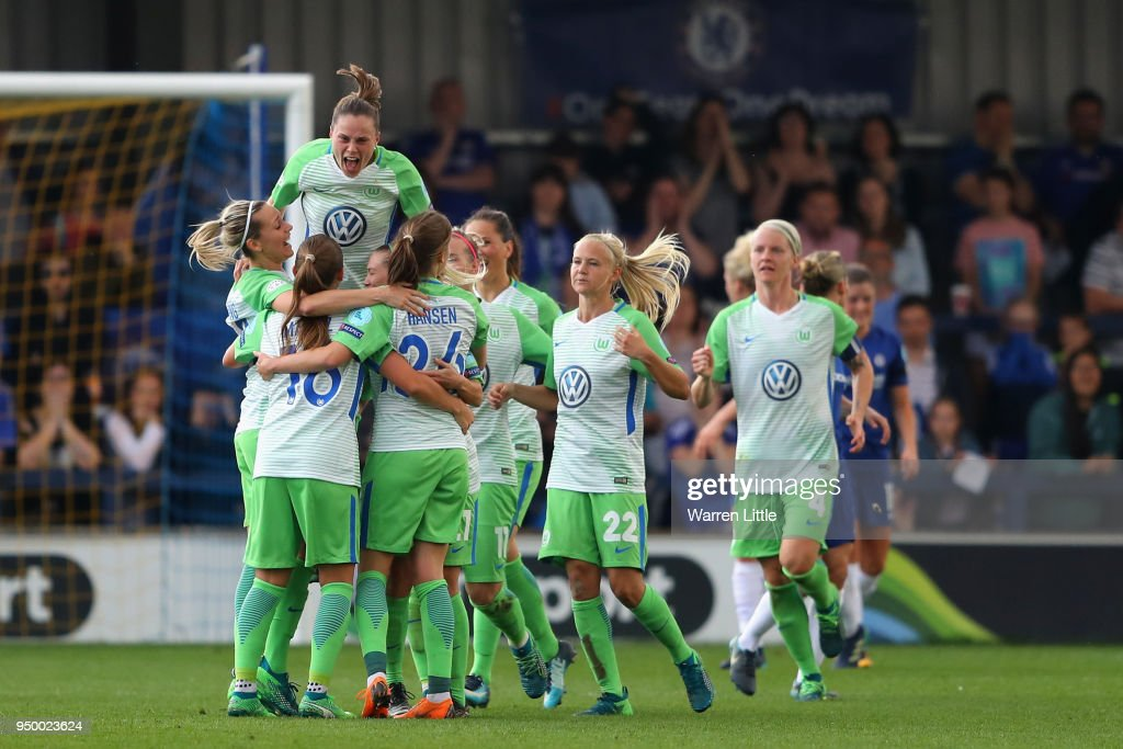 Chelsea Ladies v Wolfsburg - UEFA Womens Champions League Semi-Final: First Leg