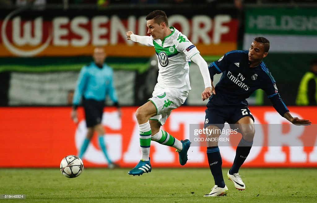 FBL-EUR-C1-WOLFSBURG-REAL-MADRID : News Photo