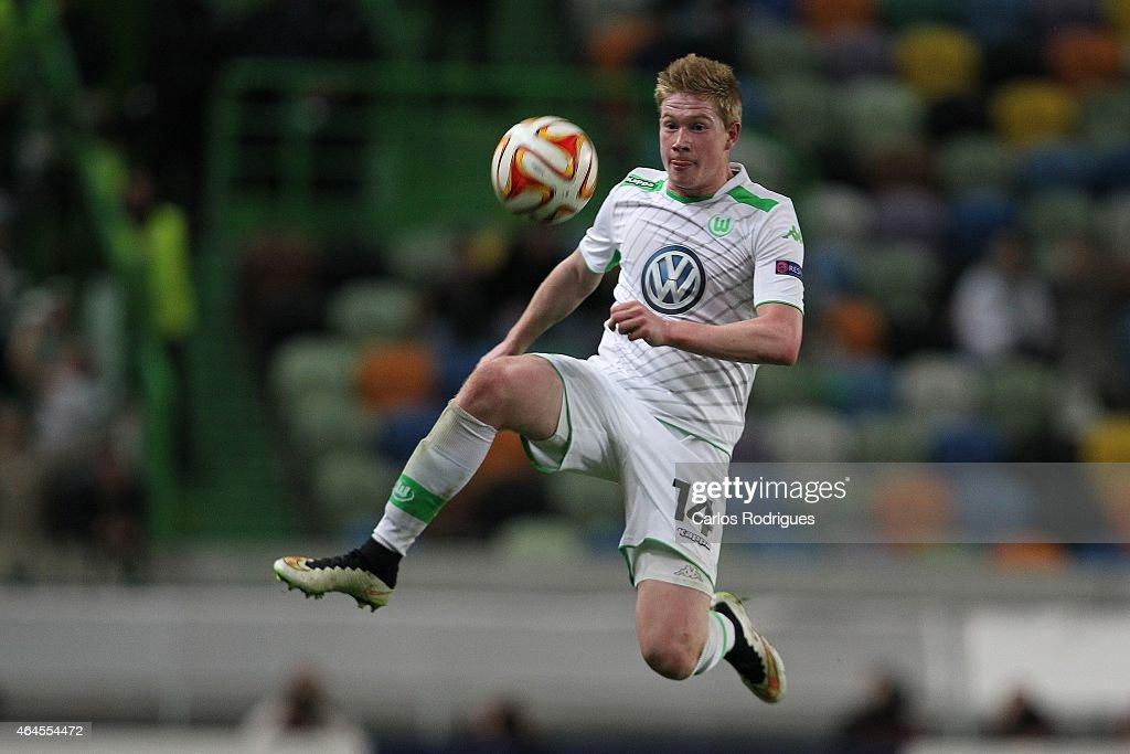 Sporting Clube de Portugal v VfL Wolfsburg - UEFA Europa League Round of 32 : News Photo
