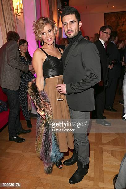 Wolke Hegenbarth and her boyfriend Oliver during the Bunte and BMW Festival Night 2016 during the 66th Berlinale International Film Festival Berlin...