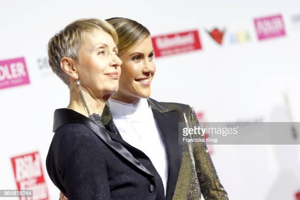Wolke Hegenbarth and her mother Gabi Hegenbarth attend the 'Goldene Bild der Frau' award at Hamburg Cruise Center on October 21 2017 in Hamburg...