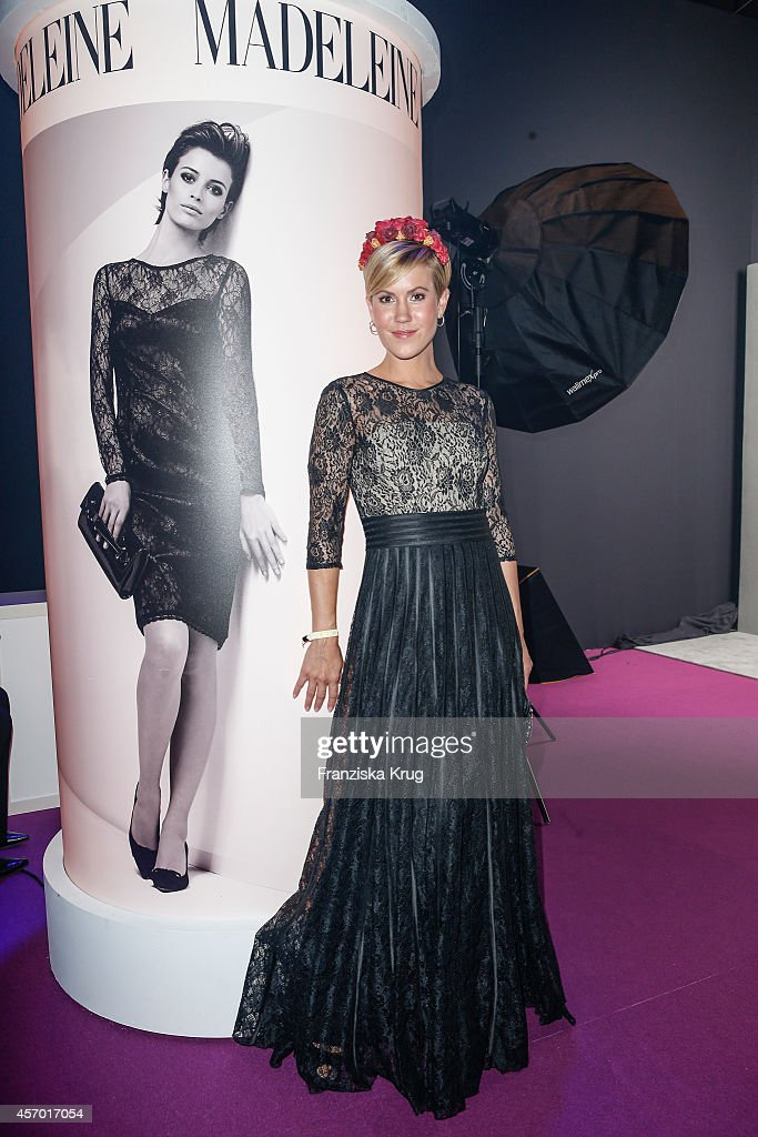 Wolke Hegenbarth attends Madeleine at Goldene Henne 2014 on October 10, 2014 in Leipzig, Germany.
