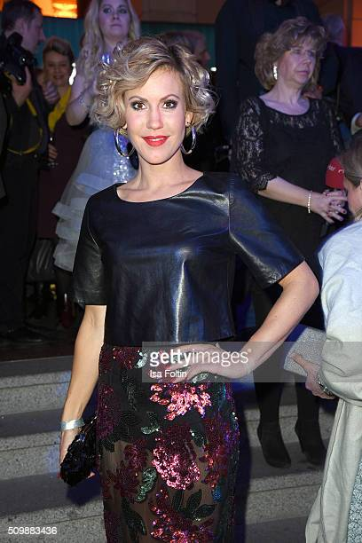 Wolke Hegenbarth attends the ARD Hosts Blue Hour Reception on February 12 2016 in Berlin Germany