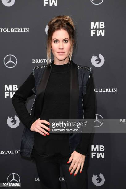 Wolke Hegenbarth attends the Bogner show during the MBFW Berlin January 2018 at ewerk on January 17 2018 in Berlin Germany