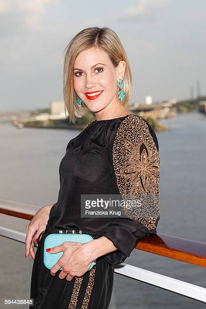 Wolke Hegenbarth attends the Fashion2Night event at EUROPA 2 on August 23 2016 in Hamburg Germany