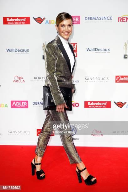 Wolke Hegenbarth attends the 'Goldene Bild der Frau' award at Hamburg Cruise Center on October 21 2017 in Hamburg Germany
