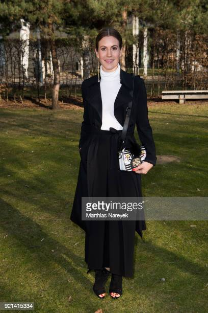 Wolke Hegenbarth attends the Hessian Reception during the 68th Berlinale International Film Festival on February 20 2018 in Berlin Germany
