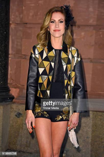 Wolke Hegenbarth attends the PLACE TO B Party on February 17 2018 in Berlin Germany