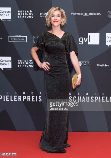 Wolke Hegenbarth beim Deutschen Schauspielerpreis 2016 im Zoo Palast Berlin am