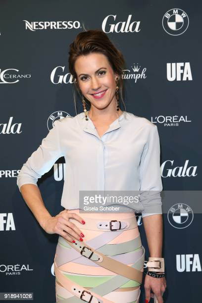 Wolke Hegenbarth during the Berlin Opening Night by GALA and UFA Fiction at Das Stue on February 15 2018 in Berlin Germany