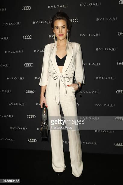 Wolke Hegenbarth during the Bulgari 'RVLE YOUR NIGHT' event during the 68th Berlinale International Film Festival on February 15 2018 in Berlin...