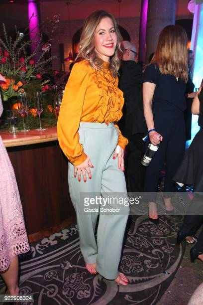 Wolke Hegenbarth during the BUNTE BMW Festival Night 2018 on the occasion of the 68th Berlinale International Film Festival Berlin at Restaurant...