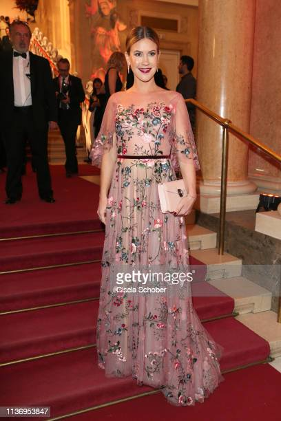 Wolke Hegenbarth during the ROMY award at Hofburg Vienna on April 13 2019 in Vienna Austria