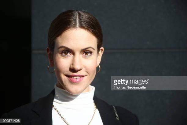 Wolke Hegenbarth is seen during the 68th Berlinale International Film Festival Berlin at on February 19 2018 in Berlin Germany