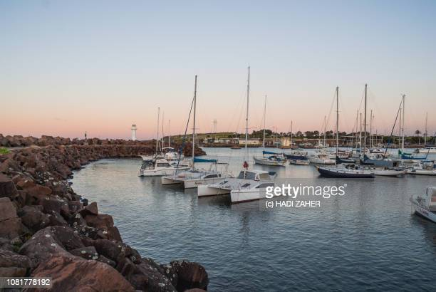Wollongong Harbour at dusk | New South Wales | Australia