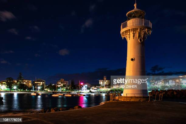 Wollongong Harbour Lighthouse at dusk | New South Wales | Australia