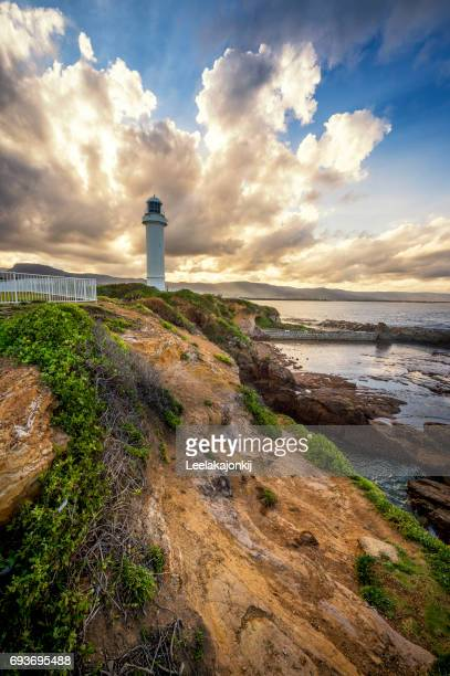 wollongong light house - wollongong stock pictures, royalty-free photos & images