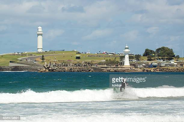 wollongong surfer - wollongong stock pictures, royalty-free photos & images