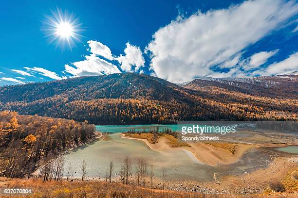 Wolong Bay of Kanas River View ,  Xinjiang, China