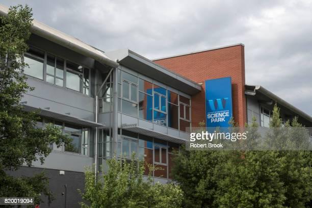 wolverhampton university science park, west midlands, uk - logo stock pictures, royalty-free photos & images
