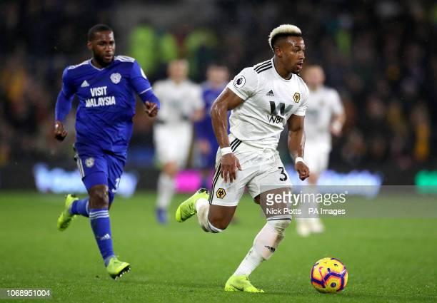Wolverhampton Wanderers' Adama Traore