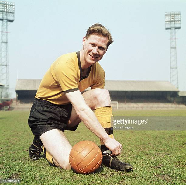 Wolverhampton Wanderers and England defender Bill Slater poses for a picture in 1960
