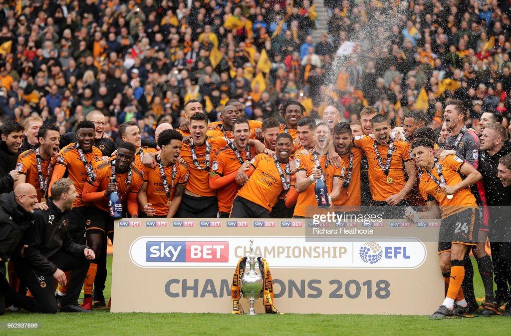 Wolverhampton Wanderers v Sheffield Wednesday - Sky Bet Championship : News Photo