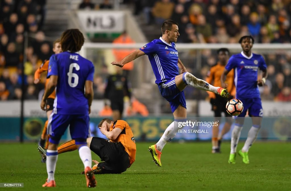 FBL-ENG-FACUP-WOLVES-CHELSEA : News Photo