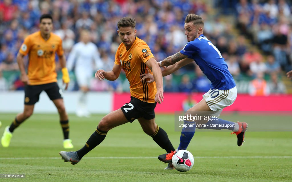 Leicester City v Wolverhampton Wanderers - Premier League : News Photo