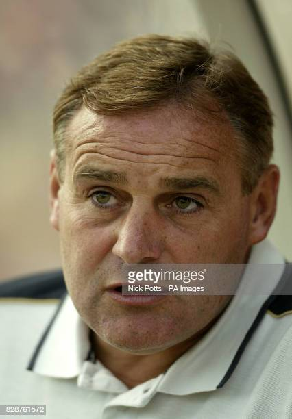 Wolverhampton Wanderers' Manager Dave Jones during their preseason friendly game against Swindon at the County Ground Swindon THIS PICTURE CAN ONLY...