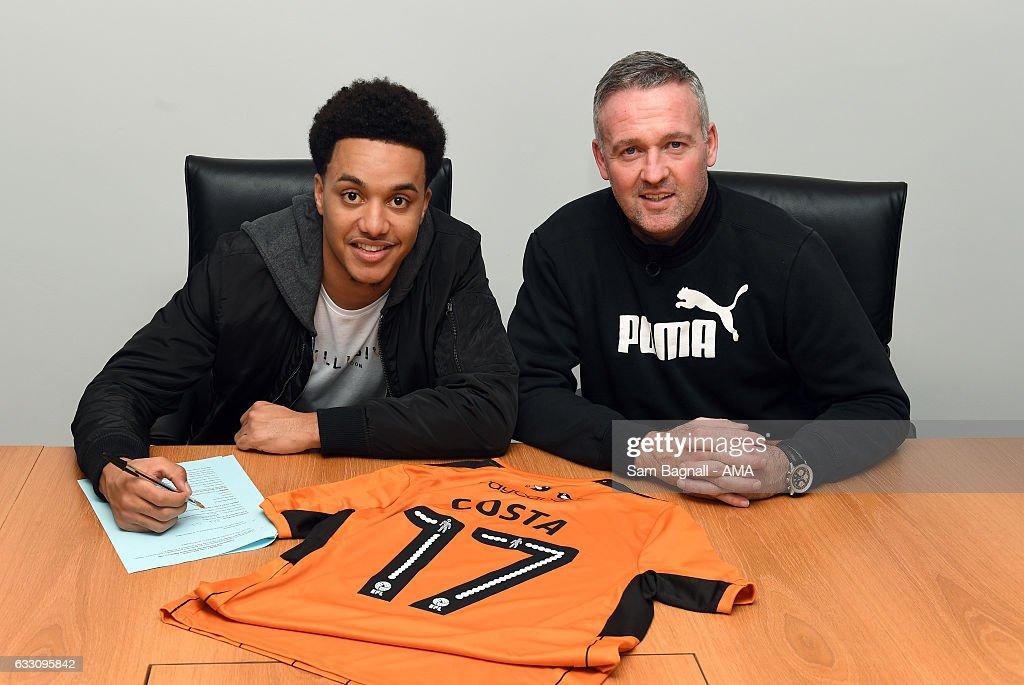 Wolverhampton Wanderers Sign Helda Costa