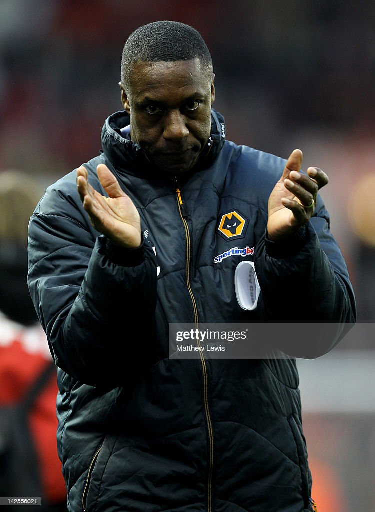 Wolverhampton Wanderers Manager Terry Connor applauds the fans at the end of the Barclays Premier League match between Stoke City and Wolverhampton Wanderers at the Britannia Stadium on April 7, 2012 in Stoke on Trent, England.