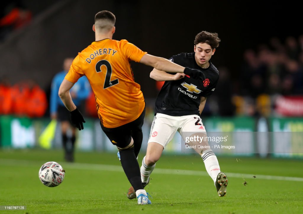 Wolverhampton Wanderers v Manchester United - FA Cup - Third Round - Molineux : News Photo