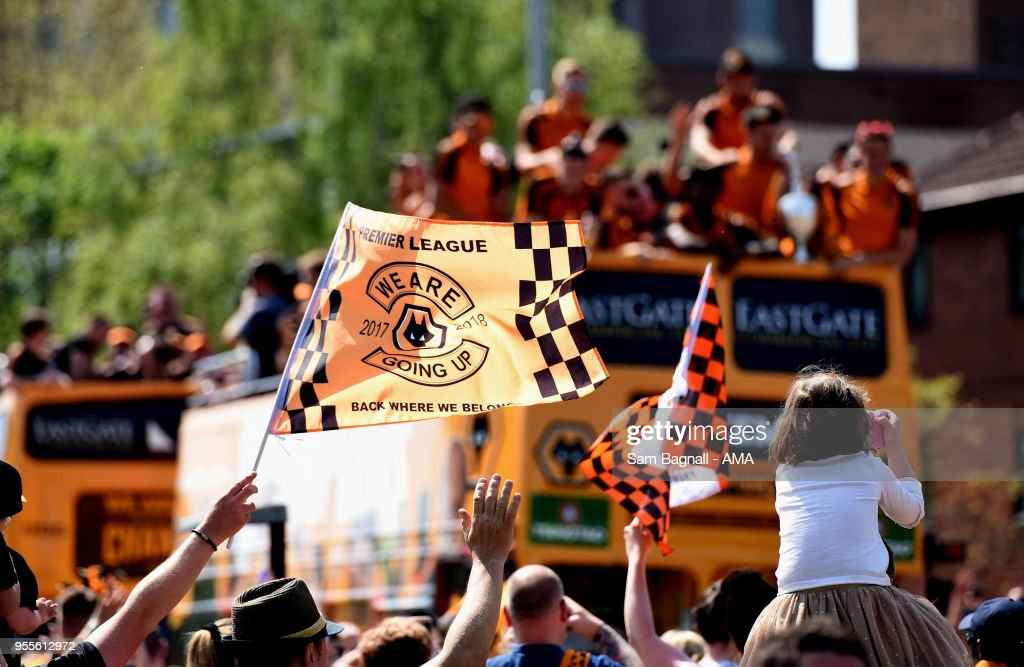 Wolverhampton Wanderers' Sky Bet Championship Winners' Parade : News Photo